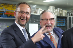 Norman Gobbi, Dany Stauffacher & Sergio Ermotti (FLTR)