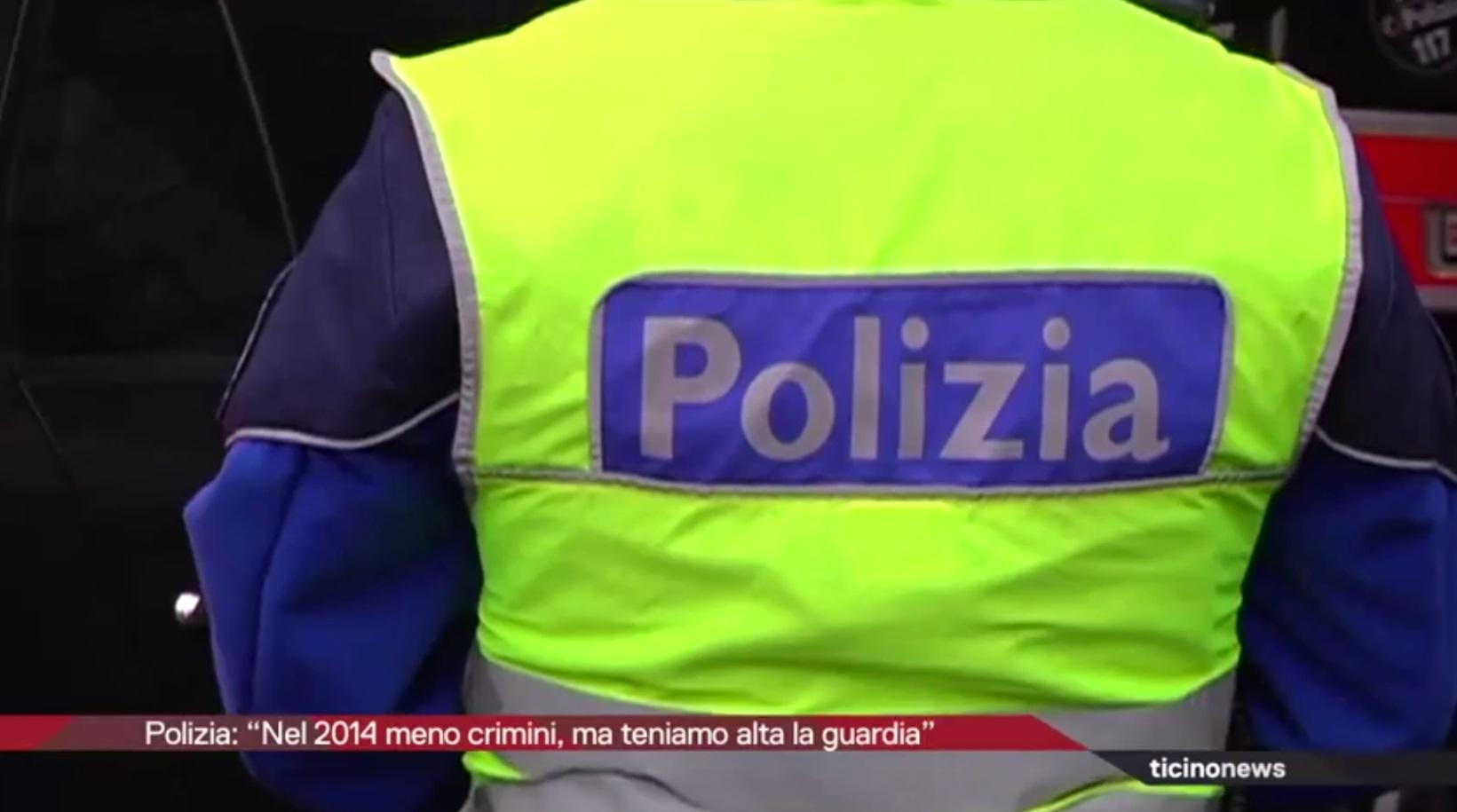 Meno furti in Ticino