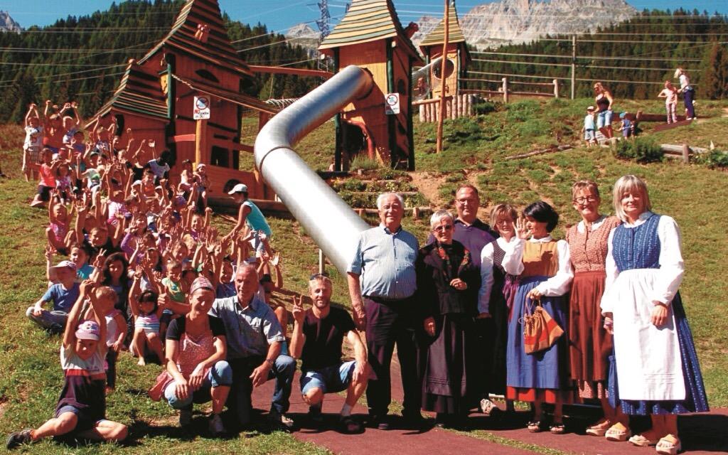 Cioss Prato, inaugurato il nuovo parco giochi