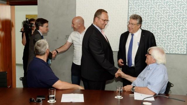 Il Consiglio di Stato incontra i rappresentanti dei partiti di Governo