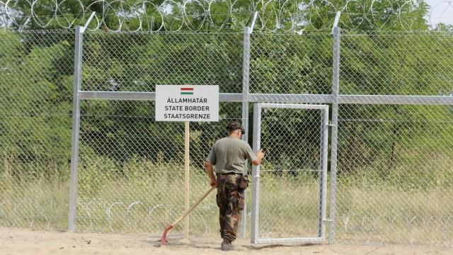 """""""Il muro è anche per il bene dell'Europa"""""""