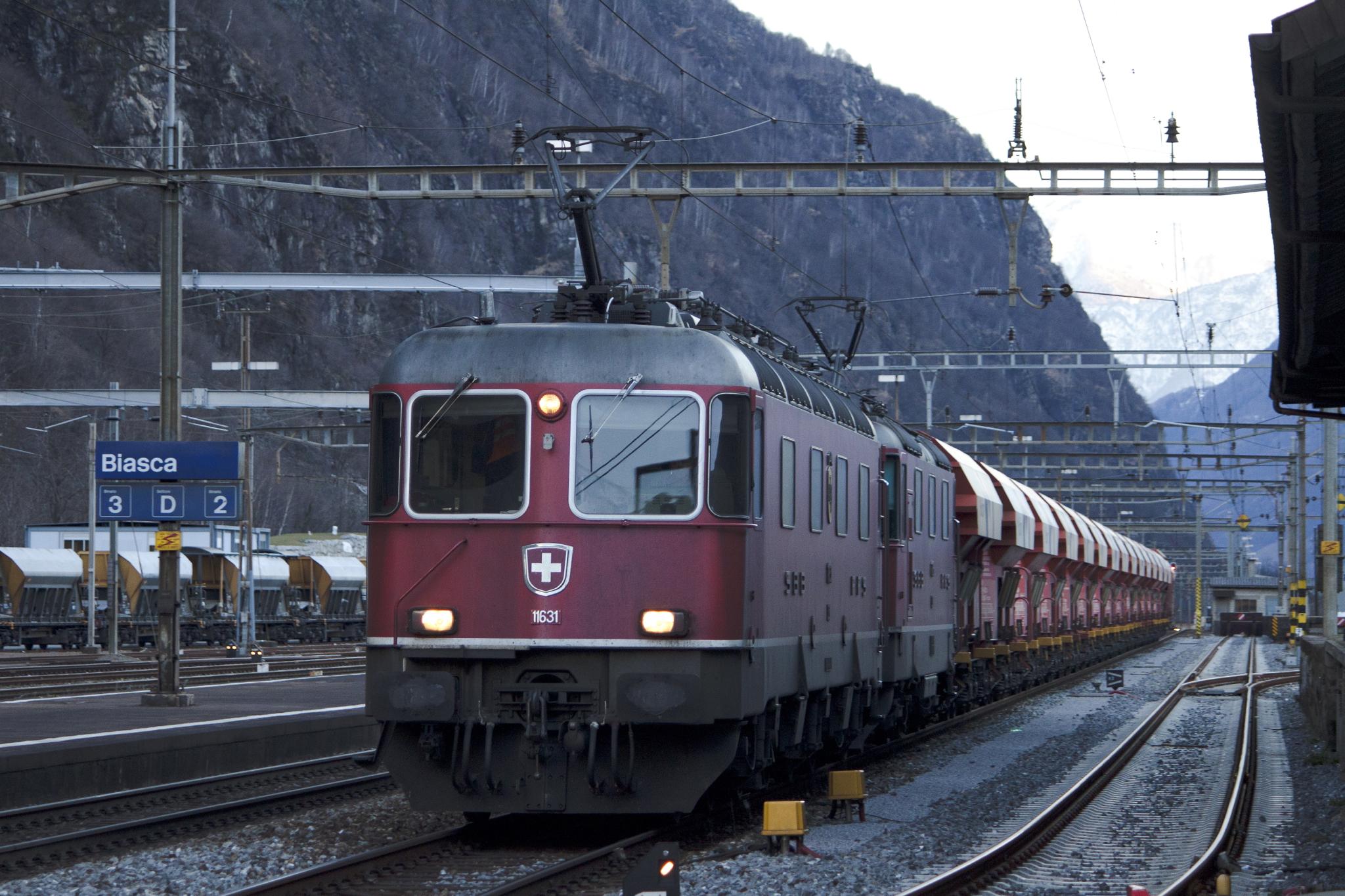 La ferrovia del futuro a Biasca