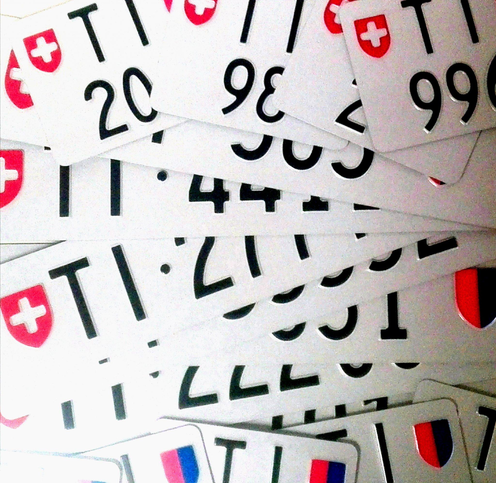 Targhe – La TI 888.888 è stata la più pagata