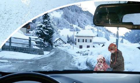 Freddo e neve affrontali senza problemi con gli pneumatici invernali