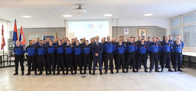 Dichiarazione di fedeltà alla Costituzione e alle leggi della Scuola cantonale di polizia 2019