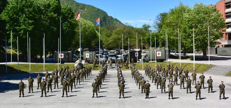 Dopo 60 giorni viene liberata la compagnia sanitaria 2, ma l'appoggio dell'esercito al Ticino continua