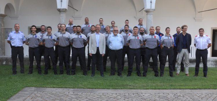 Cerimonia di consegna degli attestati ai nuovi assistenti di sicurezza pubblica