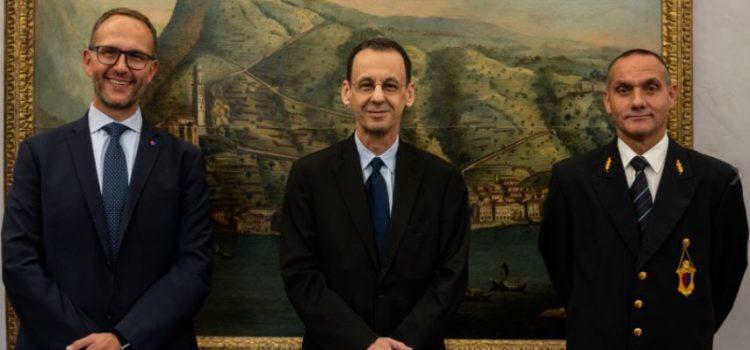 Visita di cortesia dell'Ambasciatore del Brasile