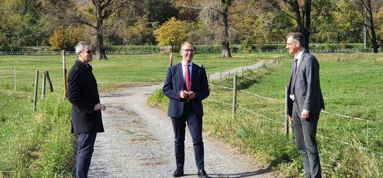 Un passo per tre obiettivi: futuro nuovo Ospedale regionale di Bellinzona, rivitalizzazione fiume Ticino e acquisto dell'Infocentro di Pollegio