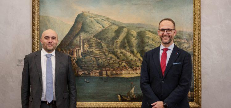Visita di cortesia dell'Ambasciatore della Repubblica francese