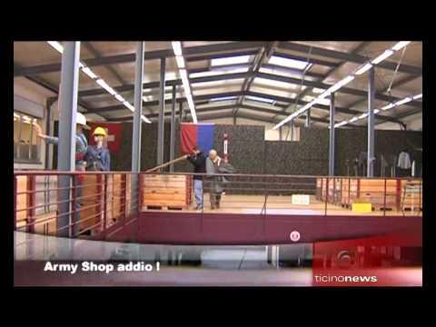 Liq-Shop dell'esercito, chiude a Bellinzona