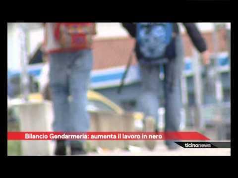 Gendarmeria cantonale contro il lavoro nero