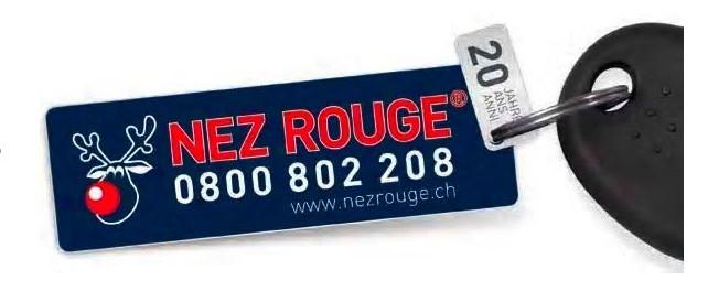 «Strade sicure» – Festeggiare in sicurezza grazie a Nez Rouge