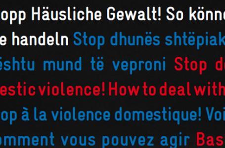 Violenza domestica, uniti per combatterla