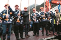 AMBRI  Festra e atto formale per la prima badirata per la nuova Valascia