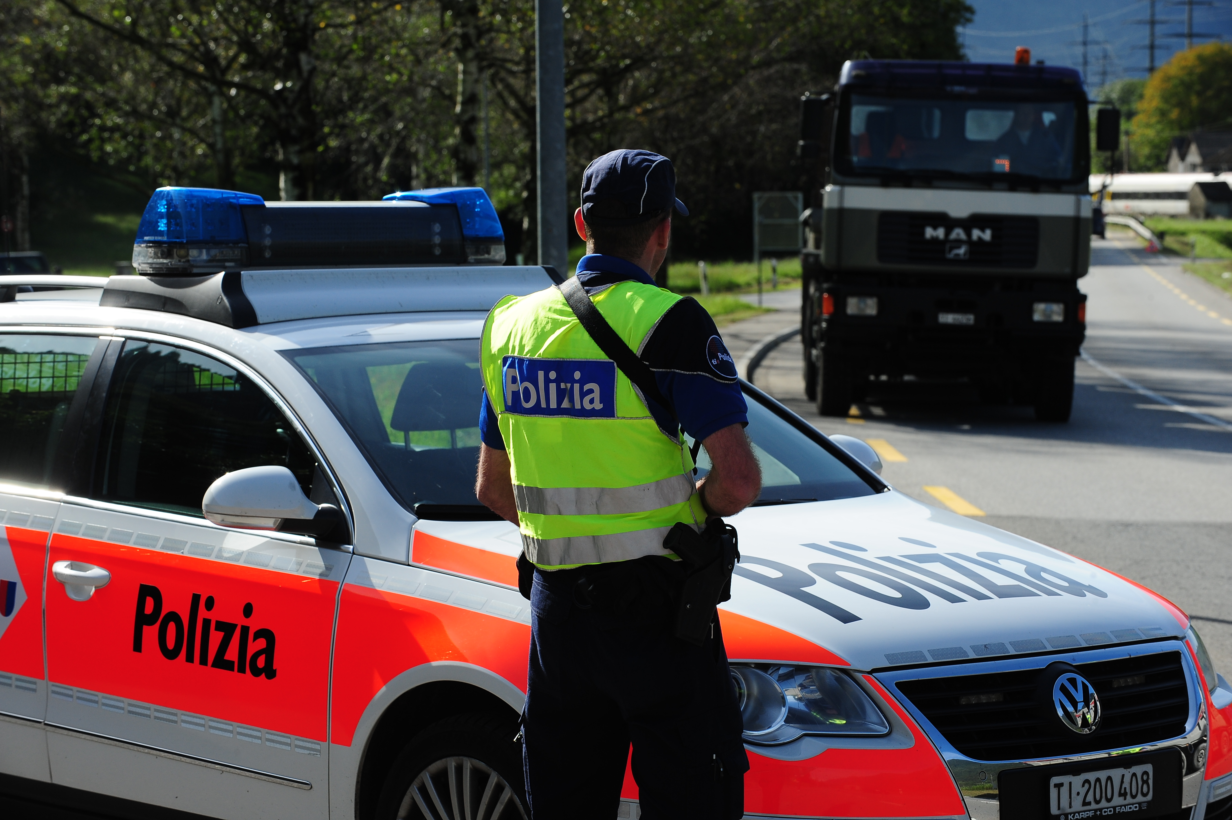 """Rapina di Novazzano, eseguiti sei arresti. Gobbi: """"Grazie a tutte le forze dell'ordine"""""""