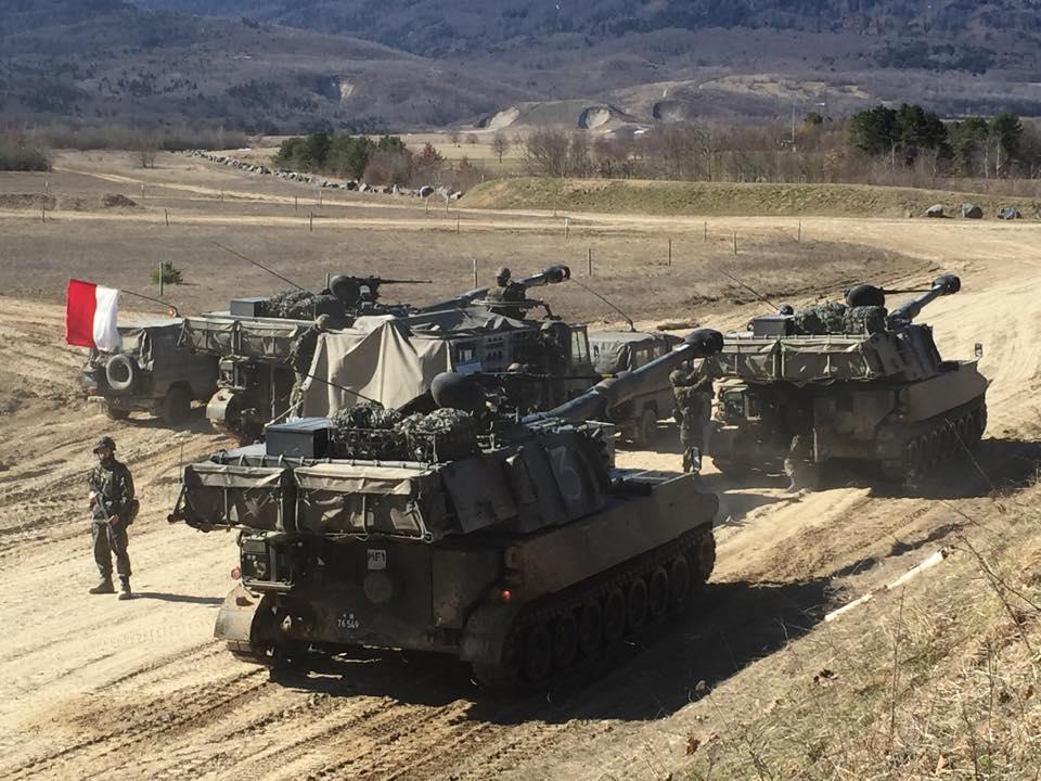 Visita al Gruppo di artiglieria 49: un Esercito moderno ed efficace