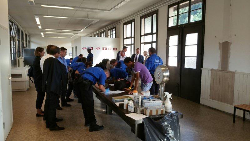I Direttori dei Dipartimenti cantonali di giustizia e polizia in visita in Ticino