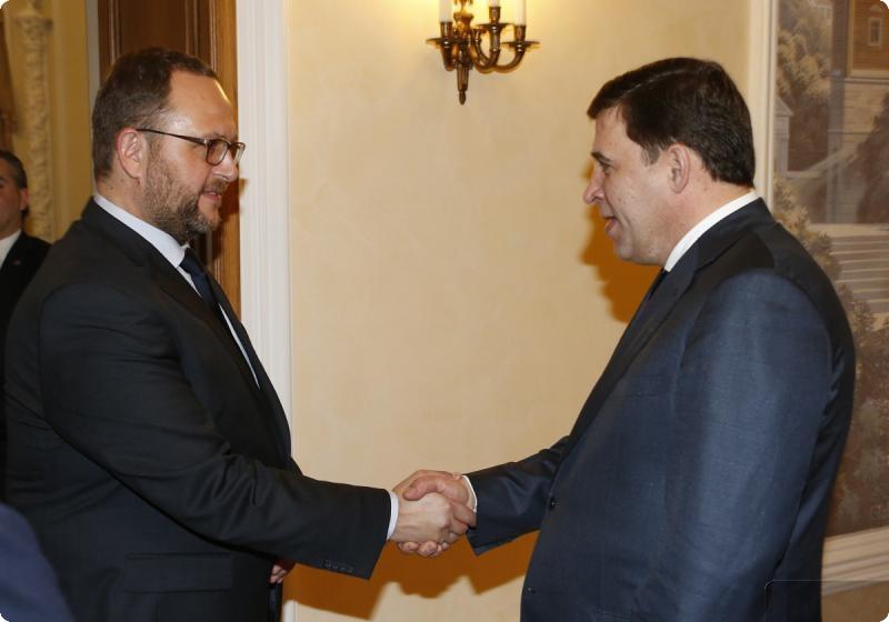 Visita e firma di un accordo di collaborazione Ticino-Sverdlovsk