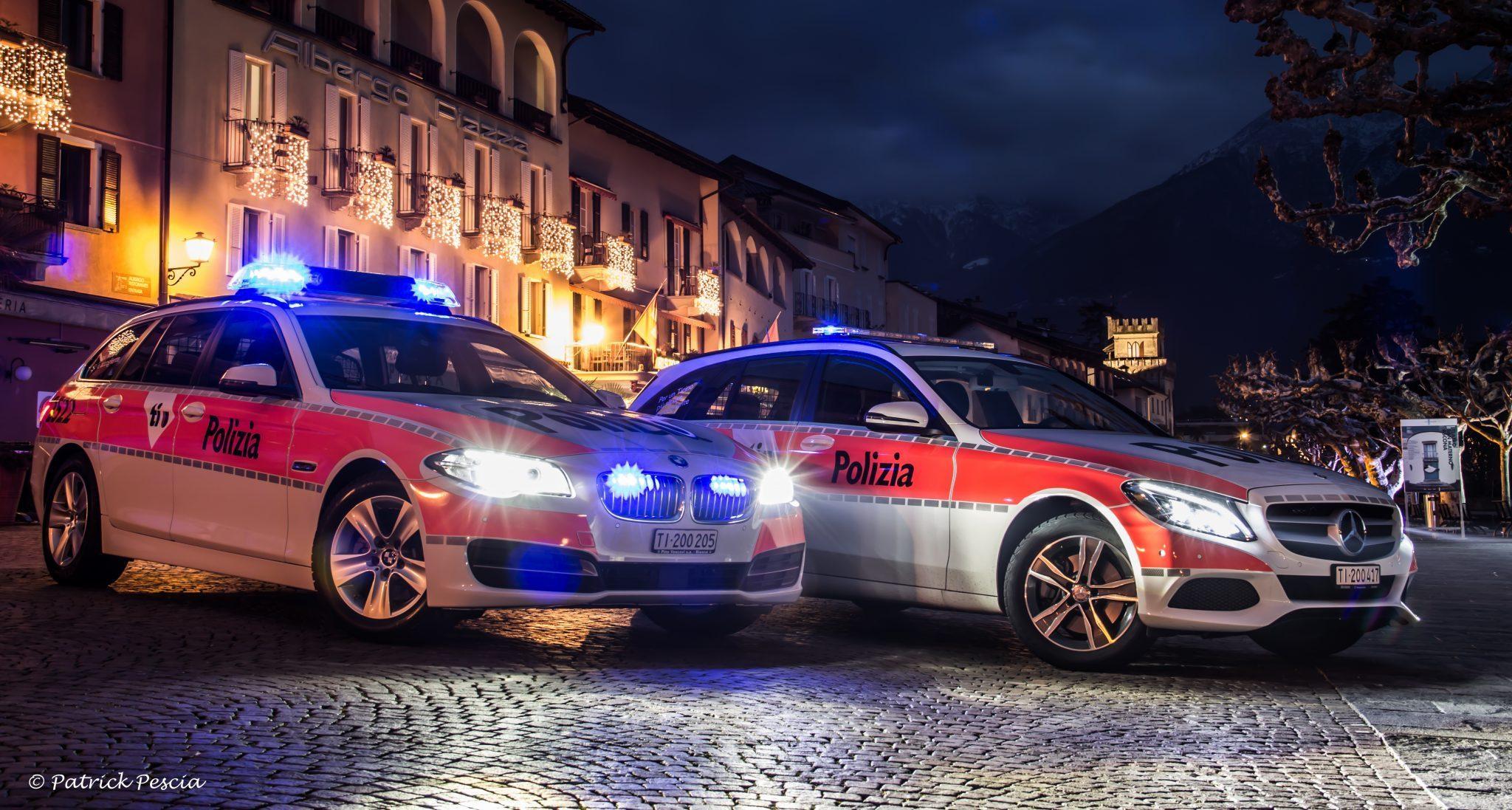 Reati in calo in Ticino nel 2015
