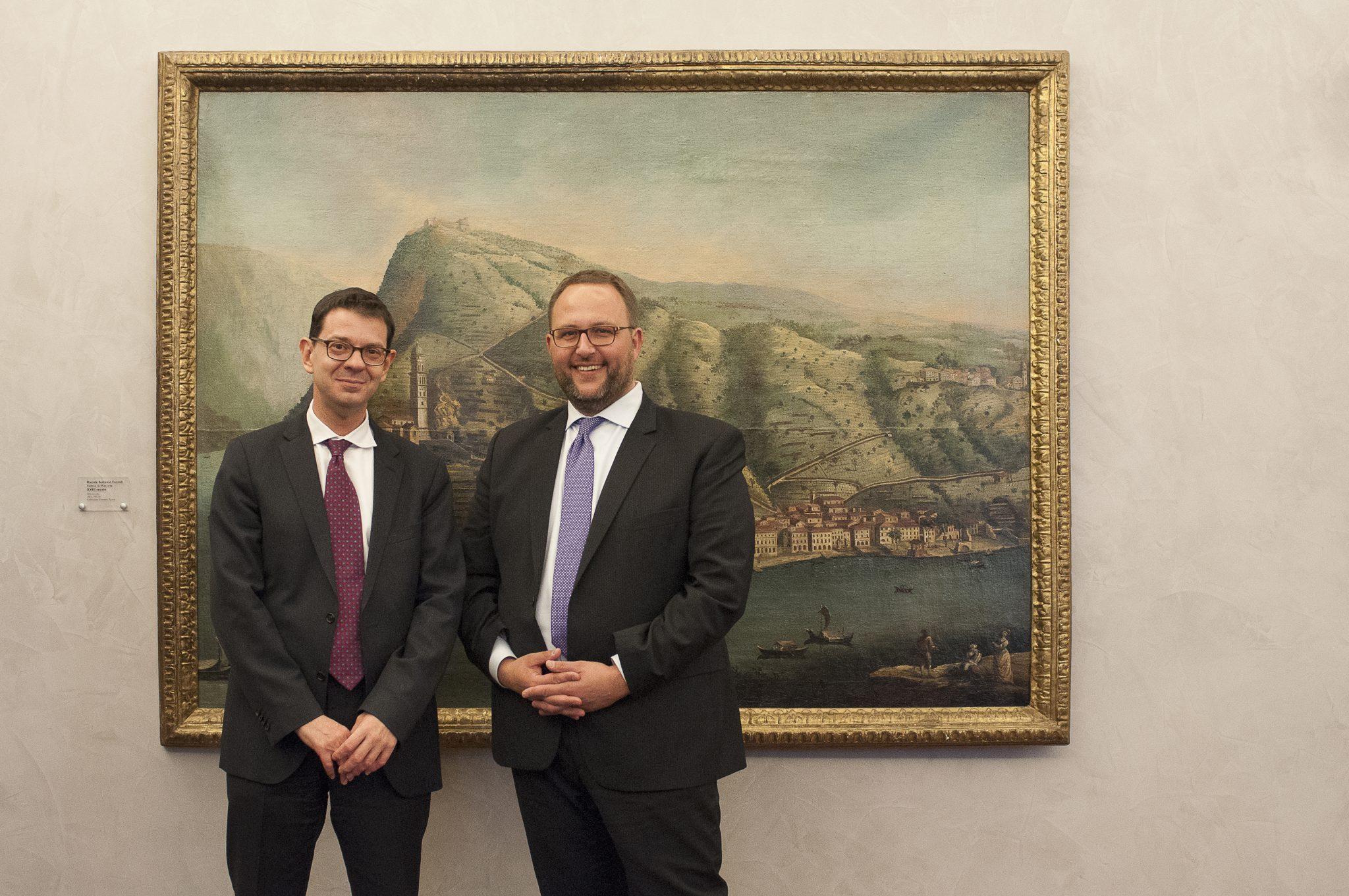 Visita di cortesia del Console generale di Svizzera a Milano