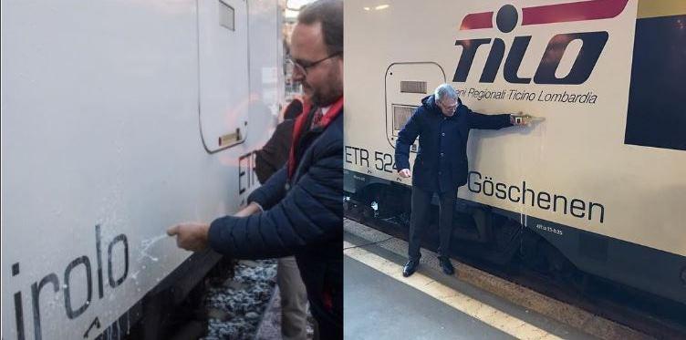 """Discorso per il battesimo del treno """"Göschenen/Airolo"""""""