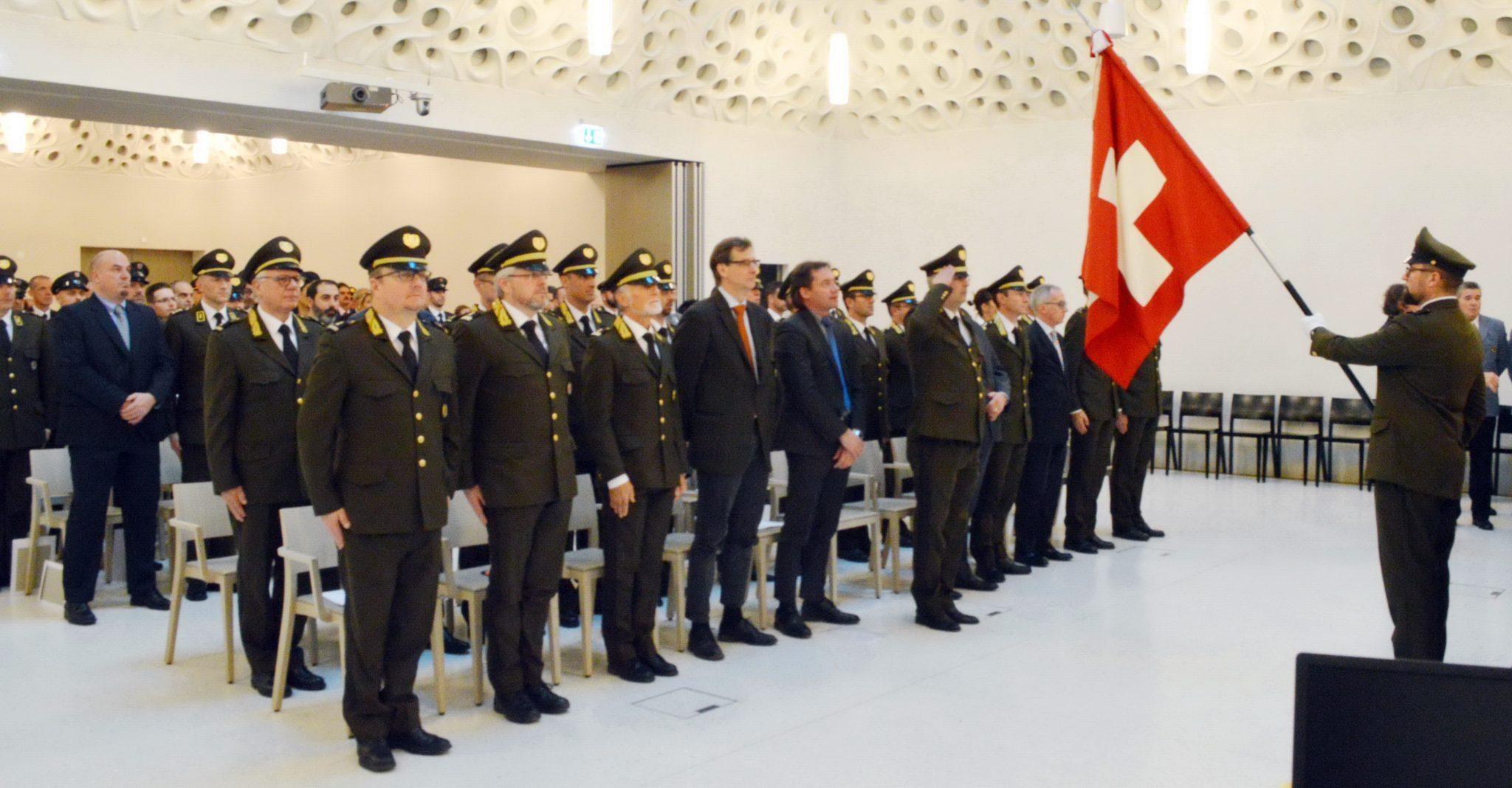 Cerimonia annuale della Polizia cantonale
