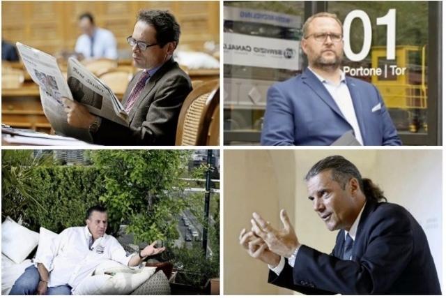 Quatre visages clés du populisme helvétique