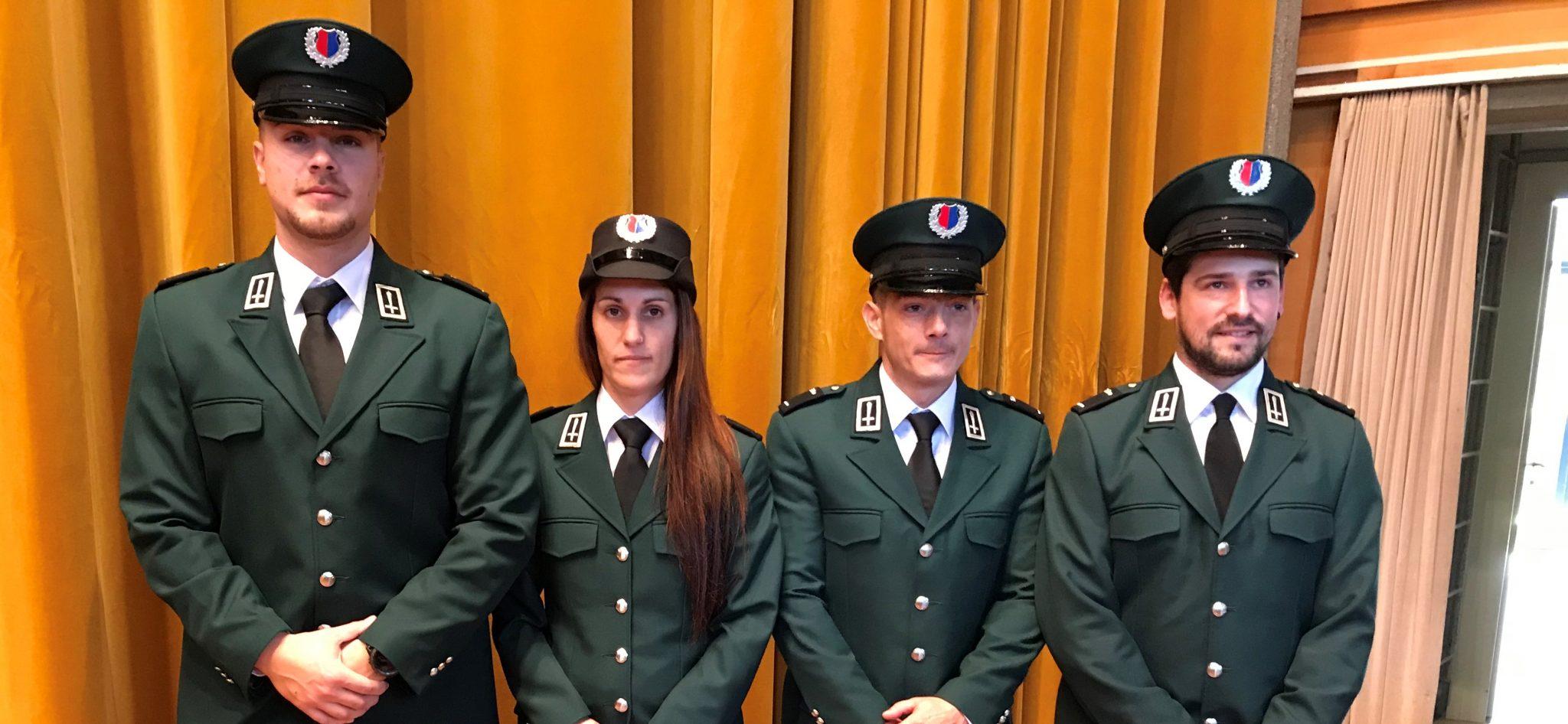 Diplomati quattro nuovi Agenti di custodia ticinesi
