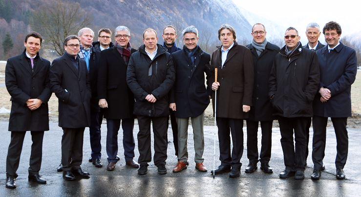 Il Consiglio di Stato in visita nel Canton Grigioni