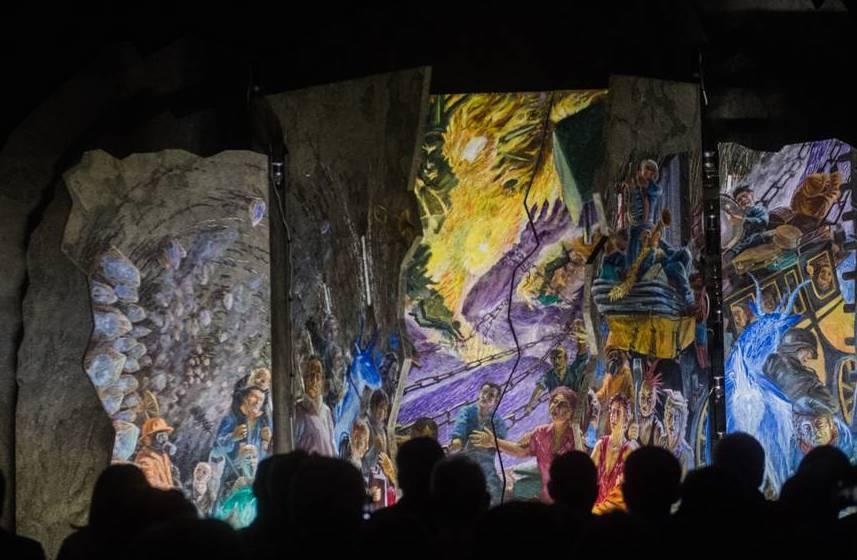 Svelato l'imponente marchingegno artistico nell'ex fortezza