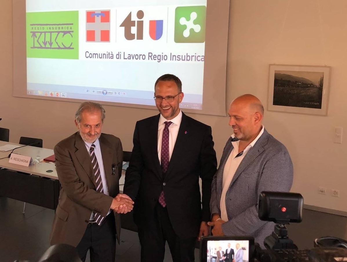 Ticino in 'pressing' con Lombardia e Piemonte