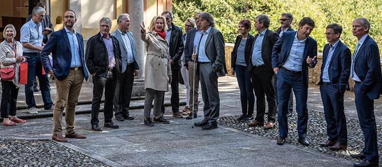 Il Consiglio di Stato riceve il Governo del Canton Nidvaldo