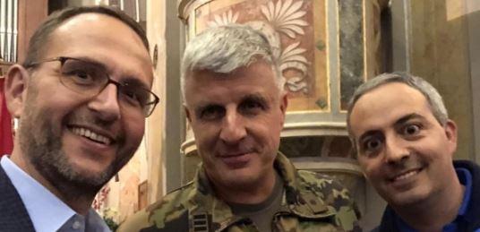 Nicola Guerini al comando delle forze speciali