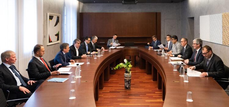 Il Consiglio di Stato incontra il Governo del Cantone dei Grigioni