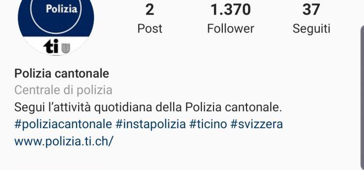 @polizia_ti: la Polizia cantonale da oggi è su Instagram