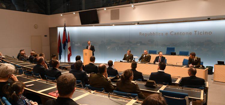 Cerimonia di promozione della Scuola di Polizia giudiziaria 2019 della Polizia cantonale