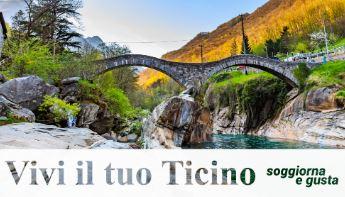 """Presentato il progetto """"Vivi il tuo Ticino"""""""