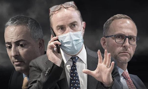 """Cocchi, Merlani e Gobbi protagonisti in 'Lockdown', la (finta) serie tv 'virale'. Il Ministro: """"Uso la satira per veicolare messaggi positivi"""""""