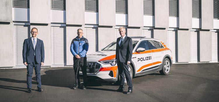 Una vettura elettrica in prova per la Polizia cantonale