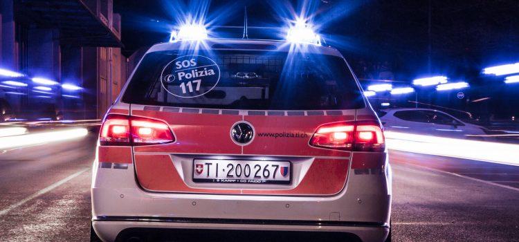 Anche nel 2020 meno incidenti sulle strade ticinesi