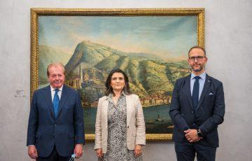 Visita di cortesia dell'Ambasciatrice del Messico