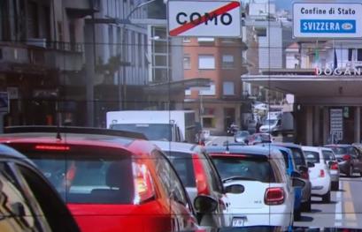 """Covid e frontiere, """"Perplessità in Ticino"""""""