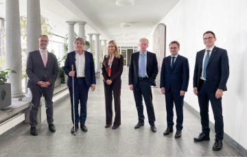 Visita di cortesia dell'Ambasciatrice svizzera in Italia