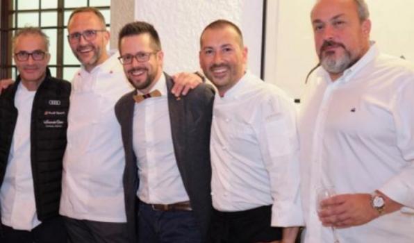 """Grande successo per la quinta edizione di """"Uomo Unità di Misura"""" al Ristorante Montalbano di Stabio"""