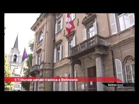 Il Tribunale penale va a Bellinzona