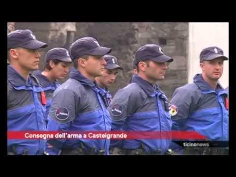 Consegna dell'arma d'ordinanza alla Scuola di Polizia 2012