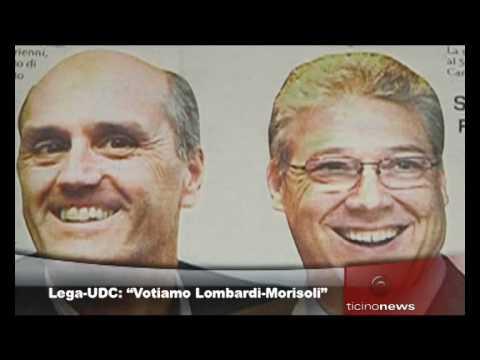 Lega e Udc Ticino lanciano il ticket Morisoli-Lombardi agli Stati