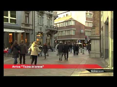 """Presentato """"Ticino in breve"""""""