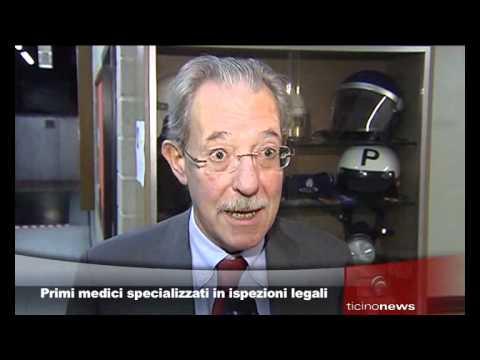 Primi medici specializzati in ispezioni legali